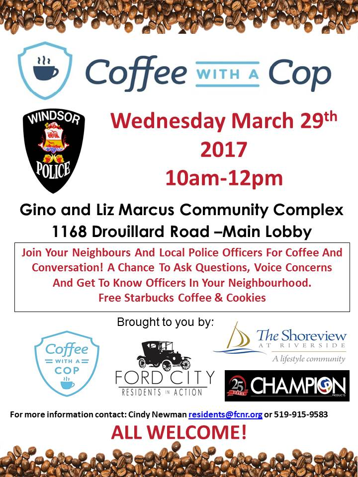 Coffee with a Cop Final FCNR March 2017
